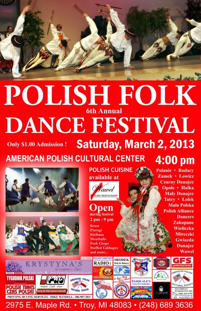 6th Annual Polish Folk Dance Festival 2013