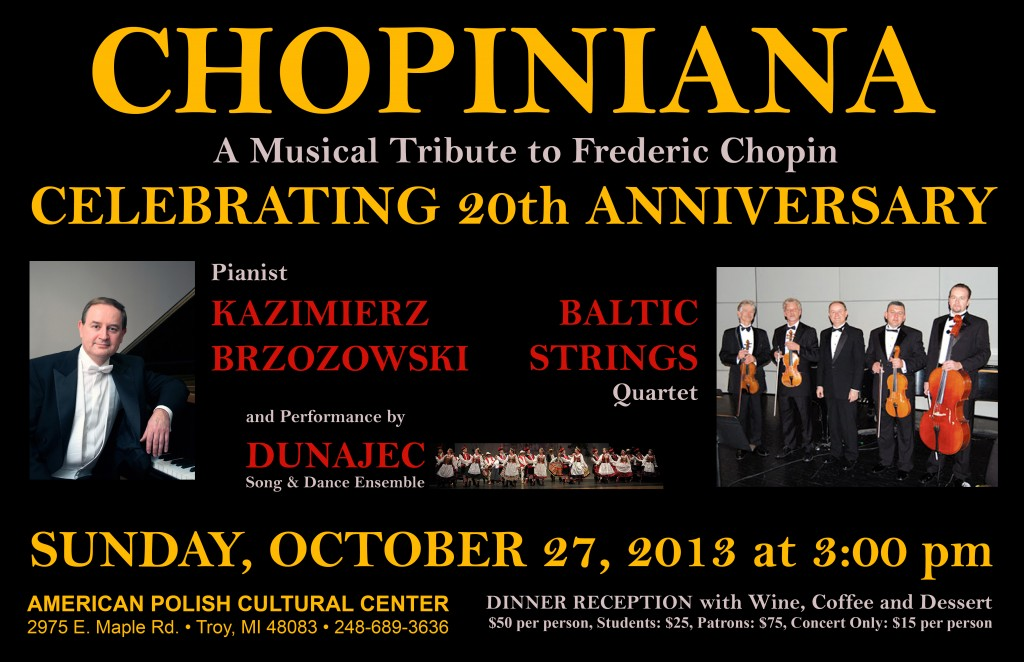 Chopiniana 2013