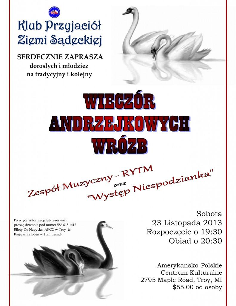 KPZS - Andrzejki 2013