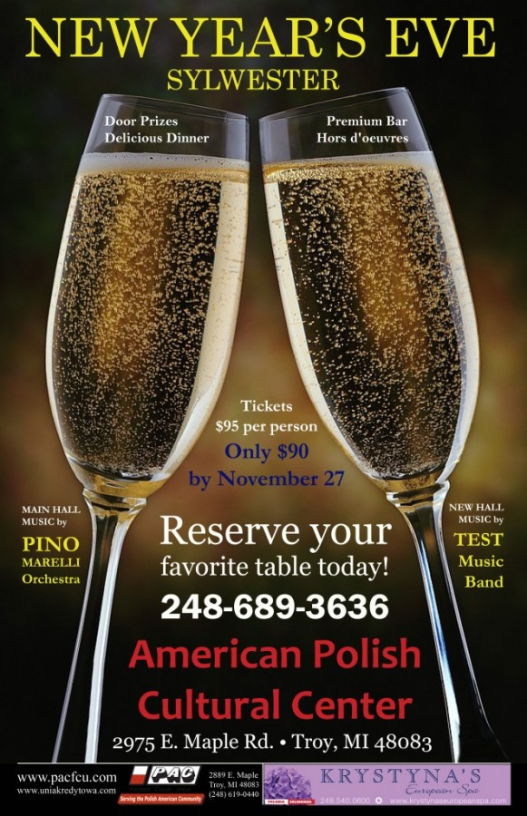 NEW YEAR'S EVE PARTY : Tuesday, December 31, 2013