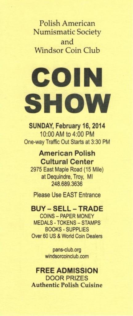 Coin Show - 1