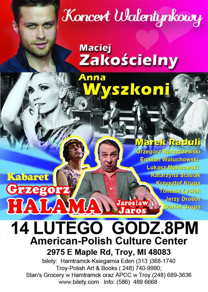 Koncert Walentynkowy 2014