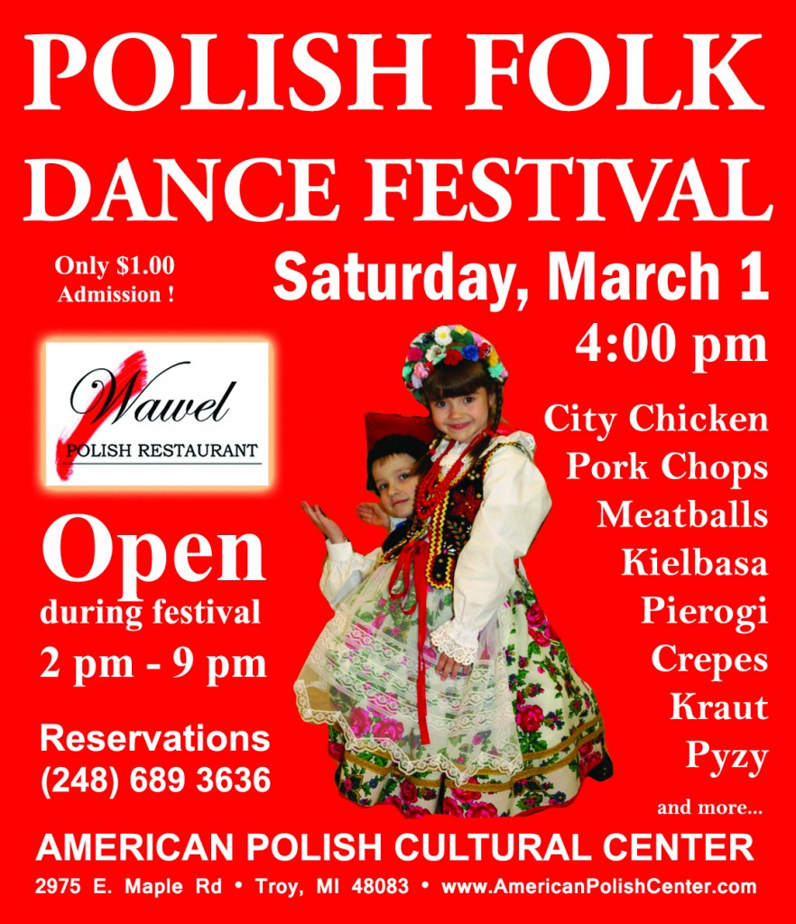 Polish Folk Dance Festival 2014