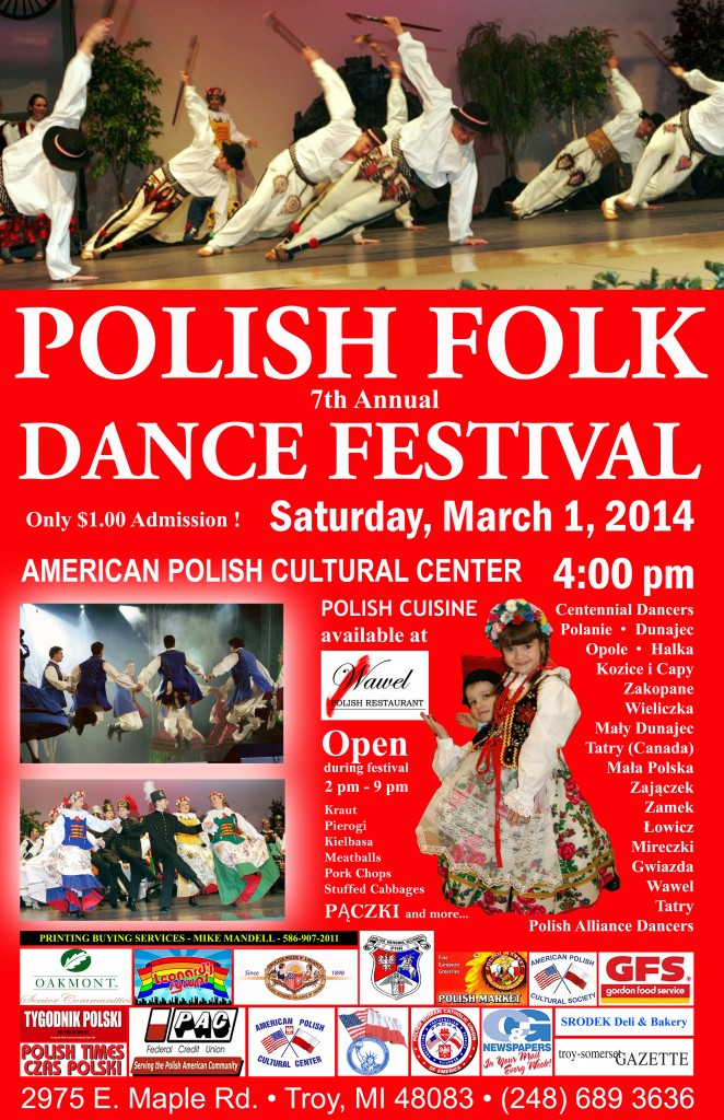 Polish Folk Dance Festival 2014
