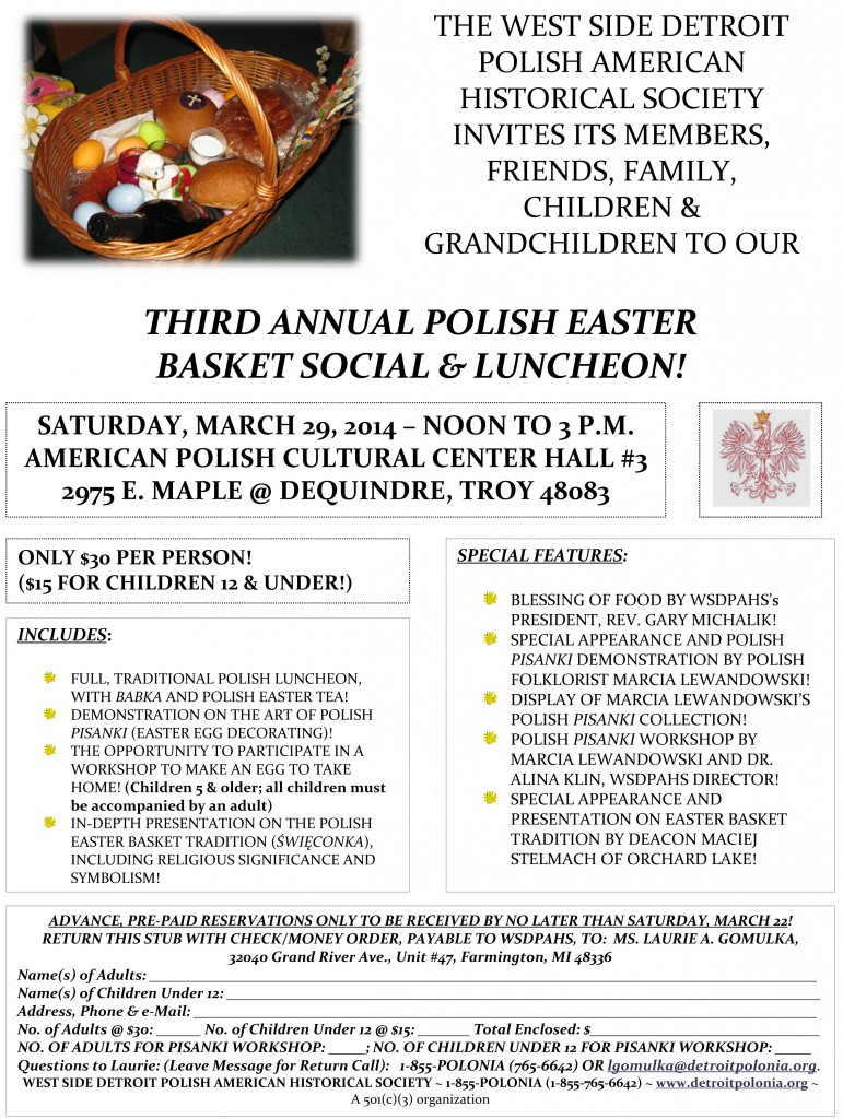 Easter Basket Social 2014