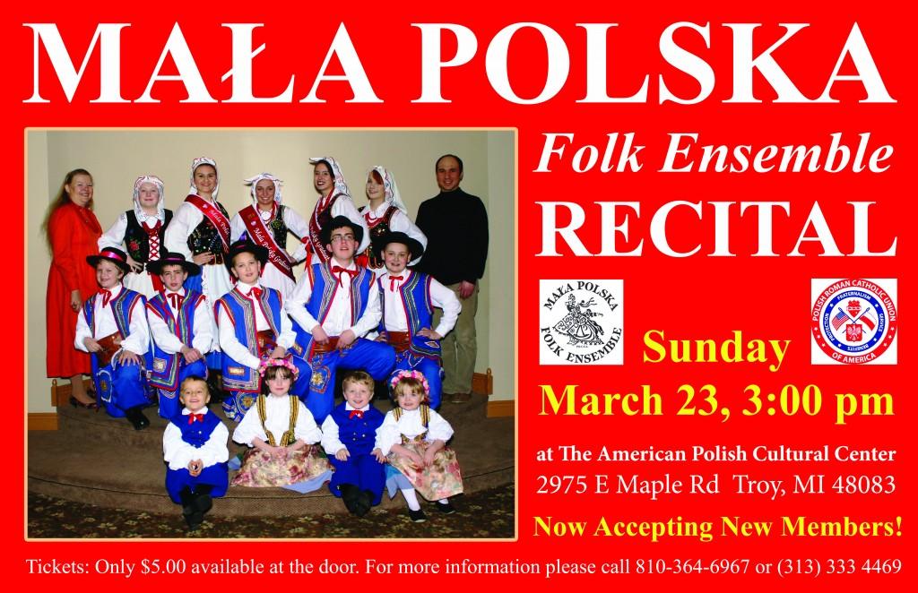 Mala Polska Recital 2014
