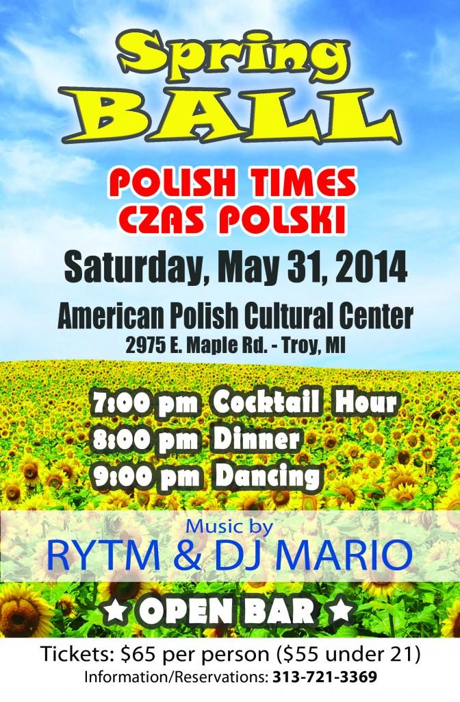 Polish Times Spring Ball 2014