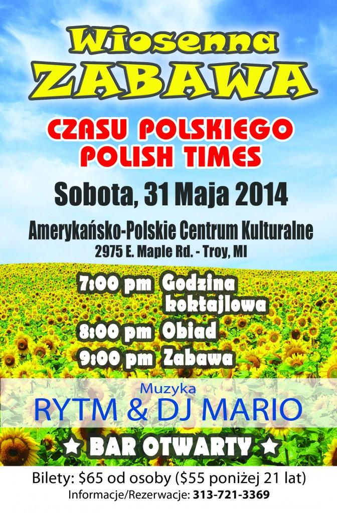 Wiosenna Zabawa Czasu Polskiego 2014