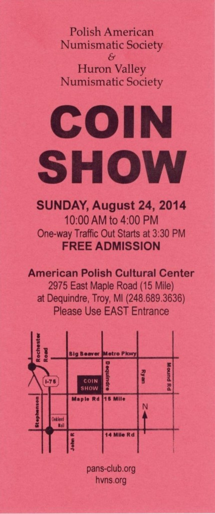 Coin Show 2 - August 2014