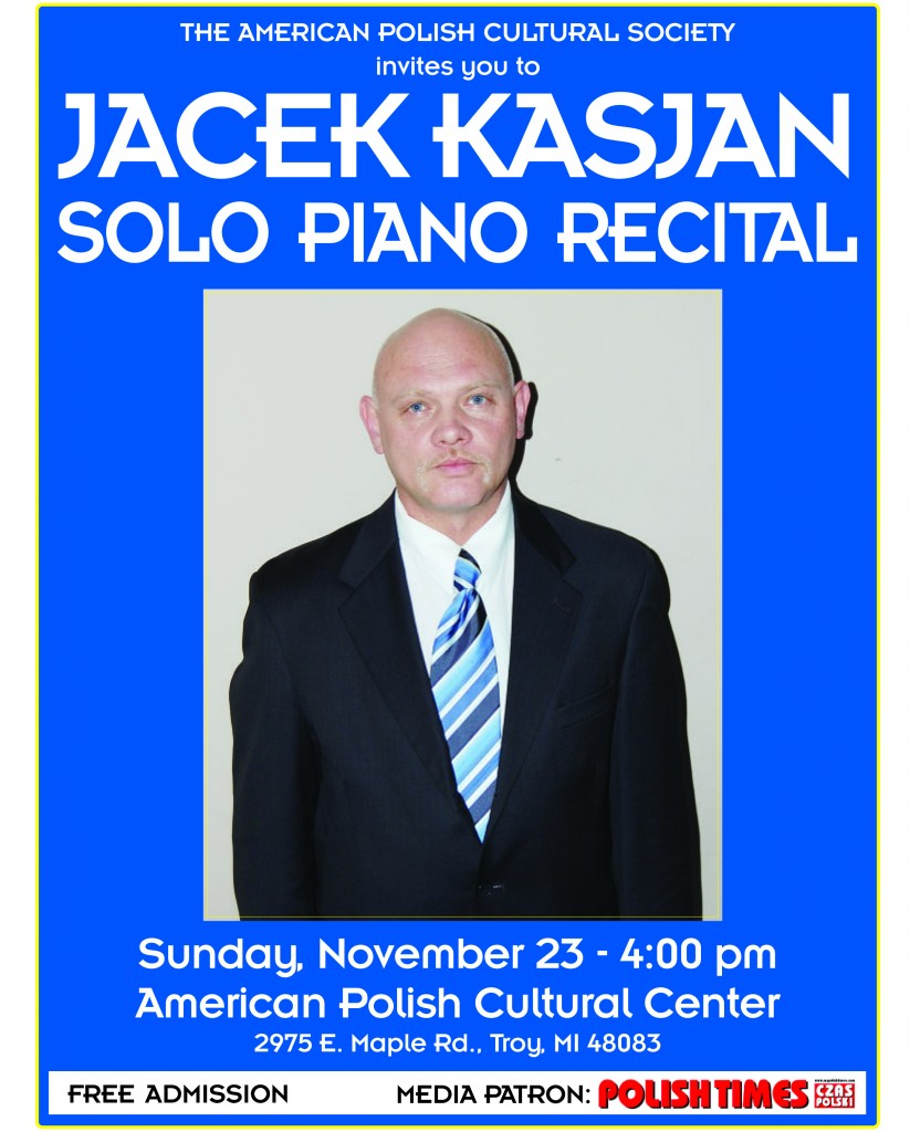 Kasjan Piano Recital