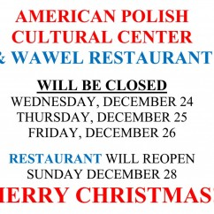 Holiday Closing - Christmas