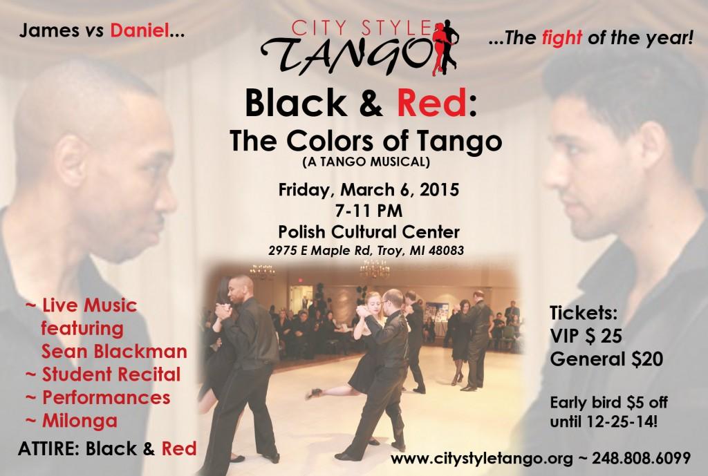 Tango Recital 2015