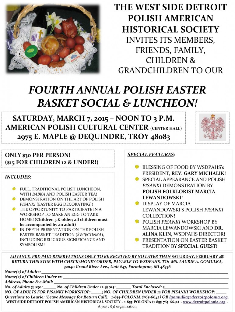 Easter Basket Social 2015