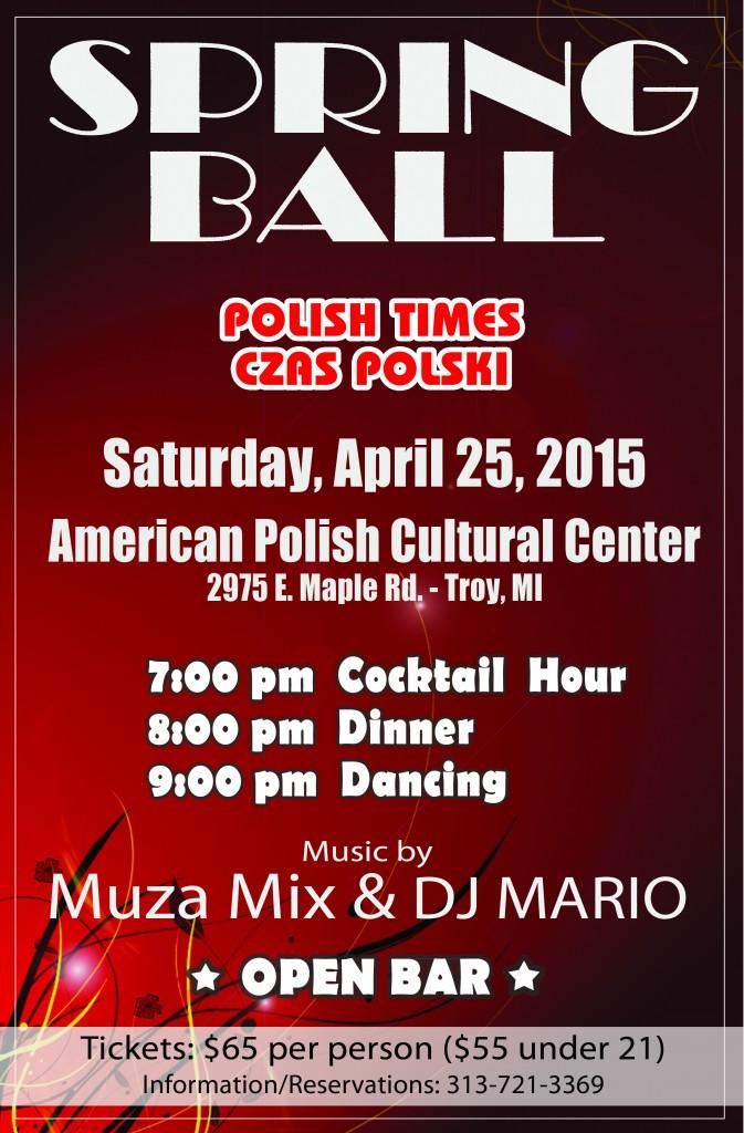 Polish Times Spring Ball 2015