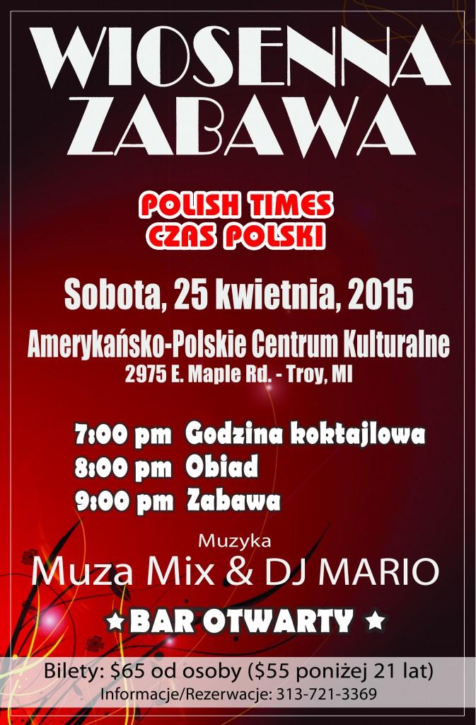 Zabawa Wiosenna  Polish Times 2015