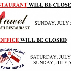 4th of July Closing 2015