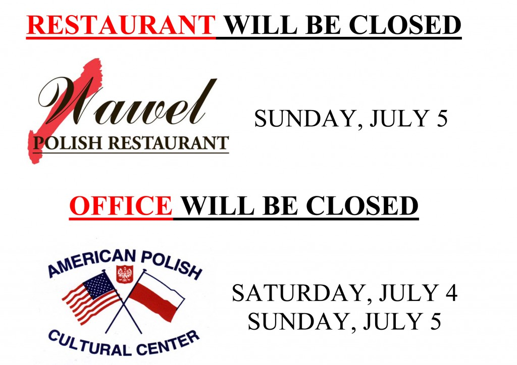 4th of July Closing 2015