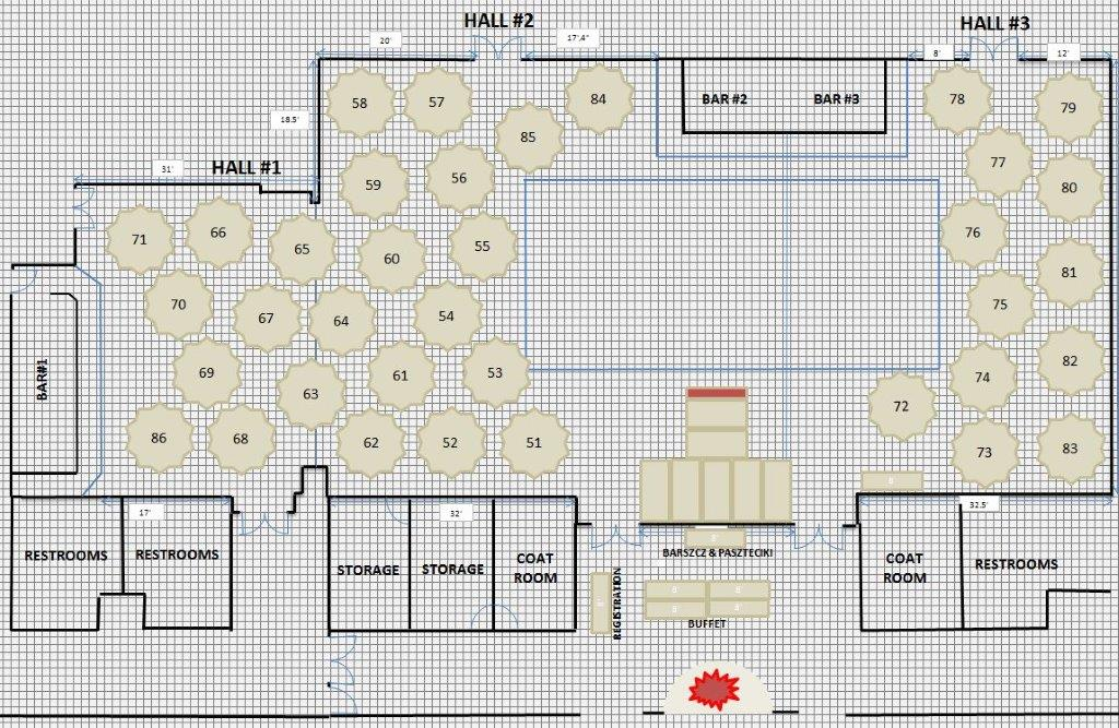 FLOOR PLAN FOR NEW YEAR'S EVE NEW HALL