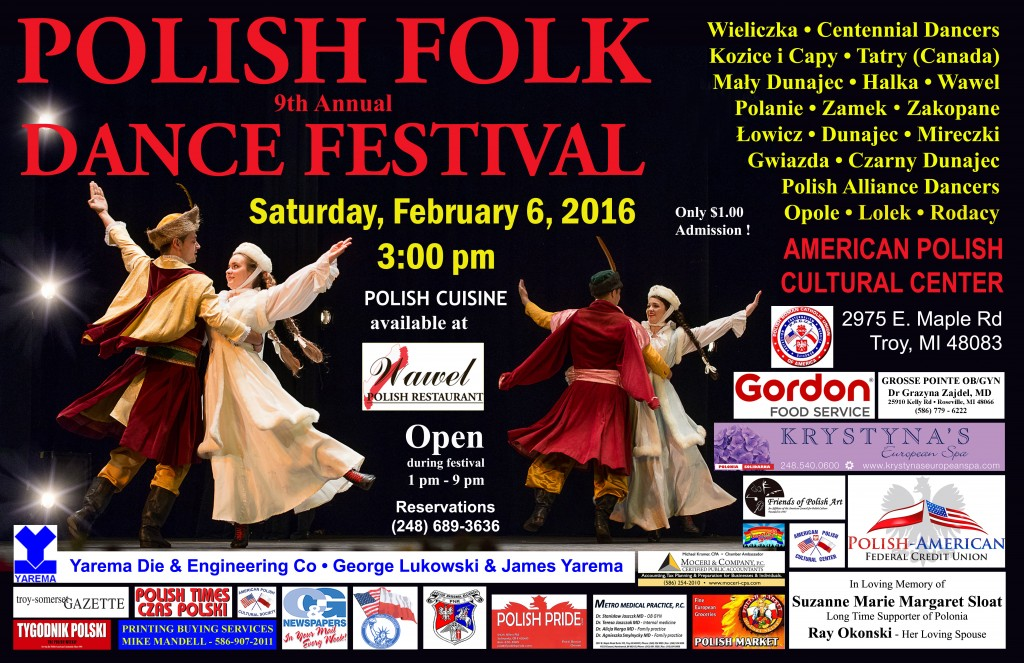 Polish Folk Dance Festival 2016