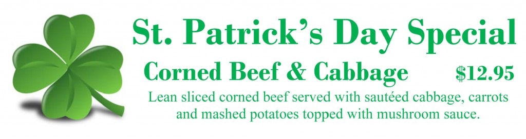 St Patricks Day Special 2016