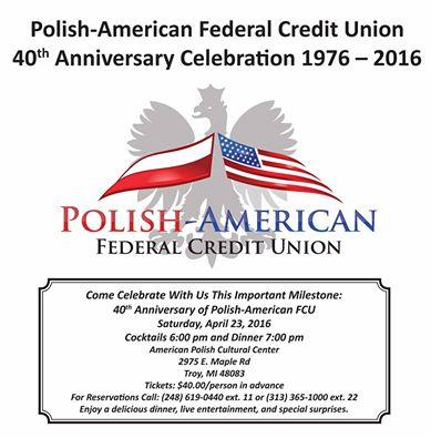 PA FCU 40th Anniversary