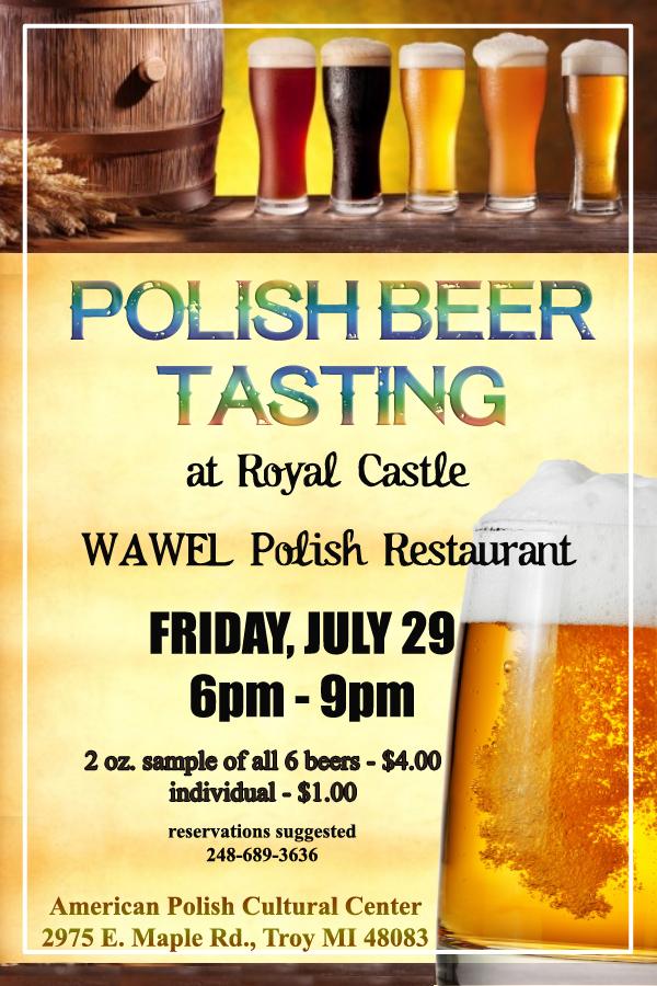 Polish Beer Tasting 2016