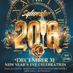 NEW YEAR'S EVE PARTY – Make Your Reservation Today!