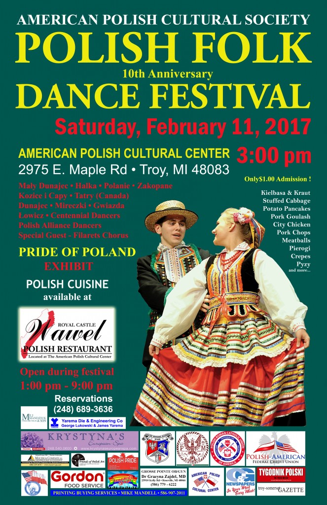 Polish Folk Dance Festival 2017