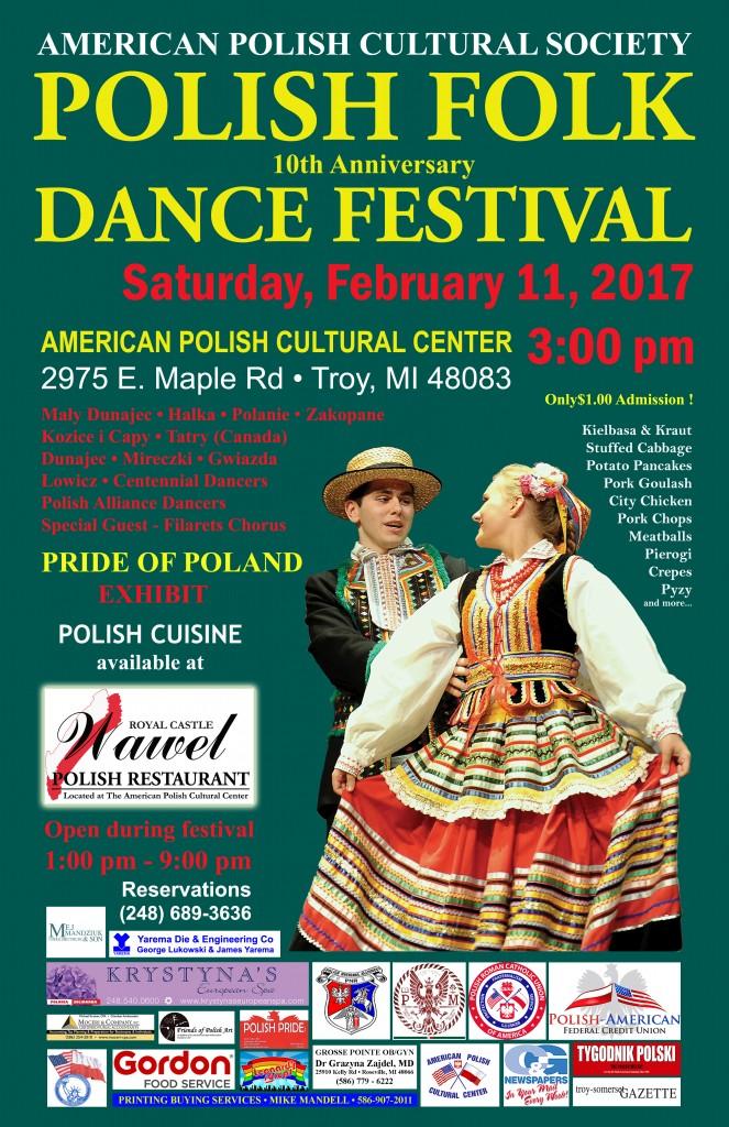 Polish Folk Dance Festival 2017