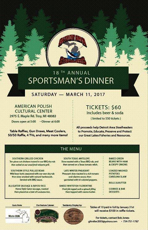 DAS Wild Game Dinner 2017