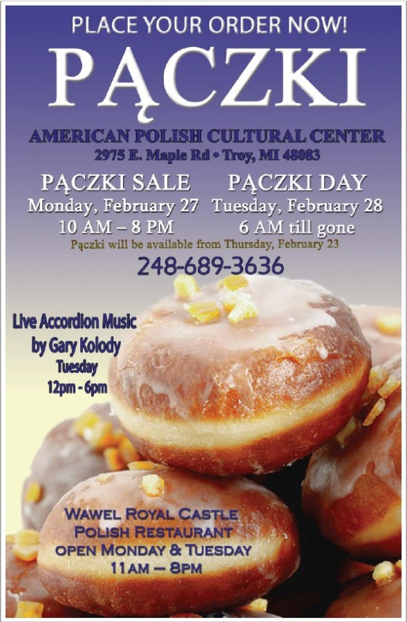 PACZKI SALE & PACZKI DAY: Monday & Tuesday, February 27 ...