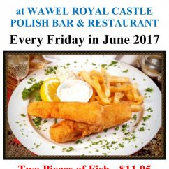 FISH & CHIPS SPECIAL – Every Friday in June 2017