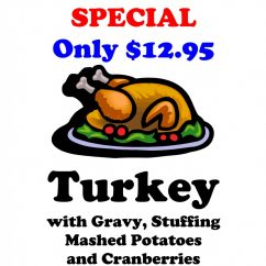 THANKSGIVING SPECIAL – Available from November 7 till November 21